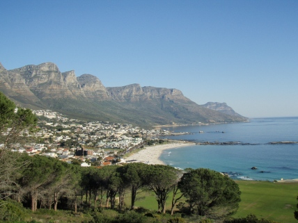 Camps Bay Beach from Table Mountain