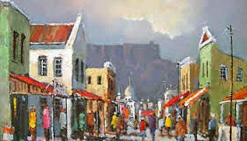 Street Scene District Six
