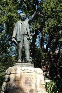 Capitalist Cecil John Rhodes