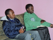 Sibusiso and Omari