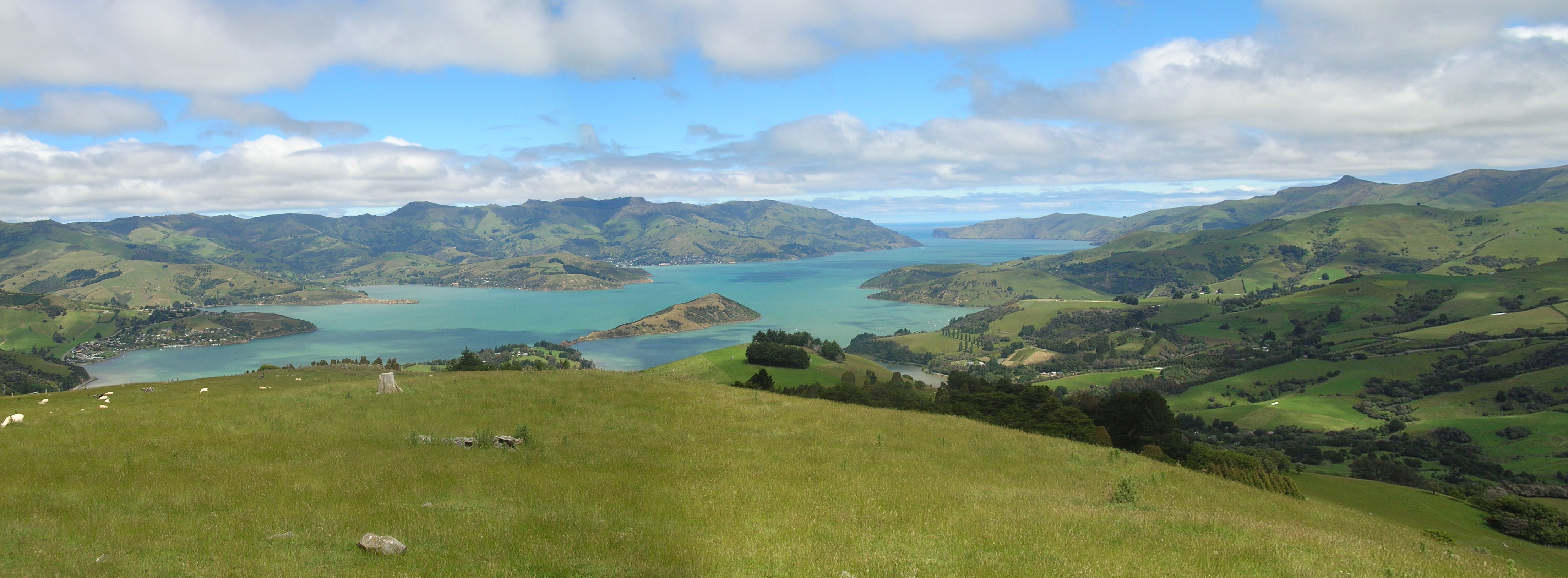 Akaroa New Zealand  city pictures gallery : akaroa harbor shipping center court house botanical gardens akaroa ...