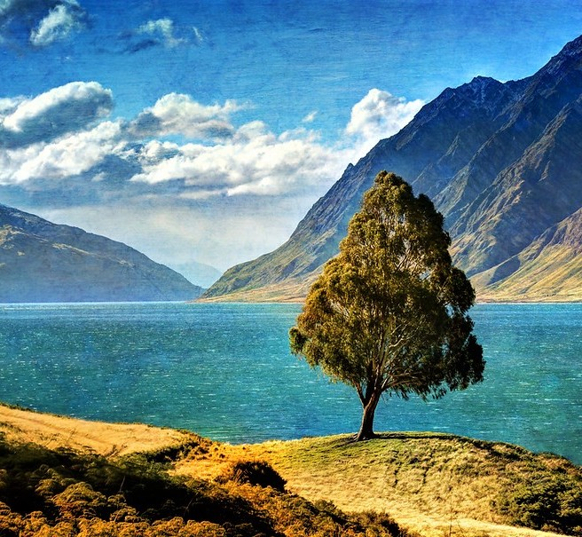 Lake Hawea - Trey Ratcliff Stuck in Customs