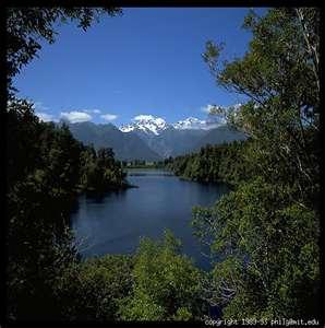 Mt. Cook and Lake Matheson