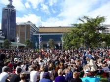 Occupy Auckland Demonstration