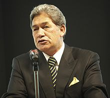 Winston Peters New Zeraland First Party