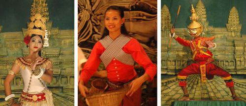 Khmer Apsara Dancers
