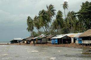 Crab Market Huts