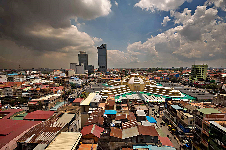 Russian Market Phnom Penh Cambodia Suemtravels