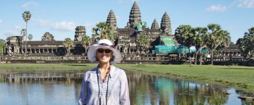 Front Angkor Wat