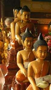Wat Phnom Buddahs