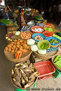 Hoi An Market Food Display