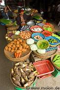 Hoi An Market Food Display