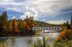 Oregon Covered Bridge