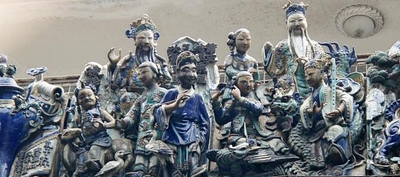 Porcelain Dioramas Thiên Hậu Temple