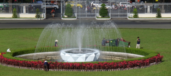 Fountain Independence Palace