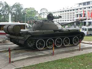 North Vietnamese Tank Independence Palace