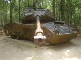 Abandoned Tank