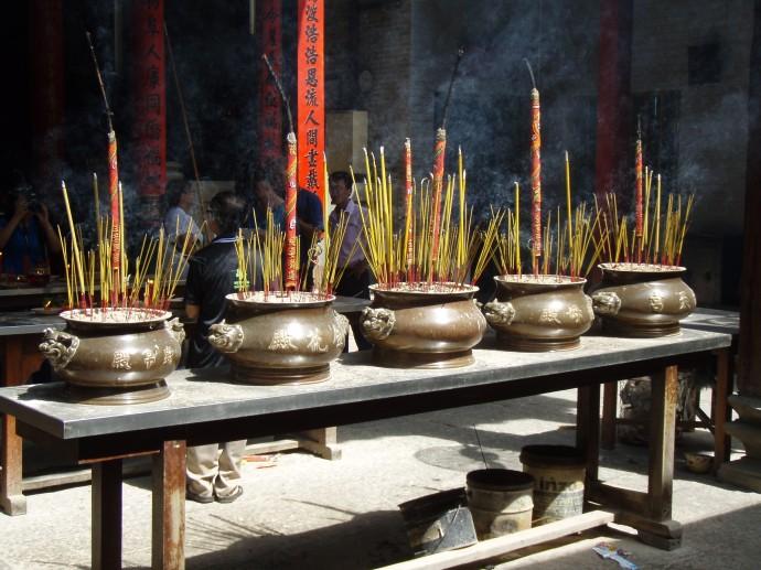 Incense Pots Thiên Hậu Temple