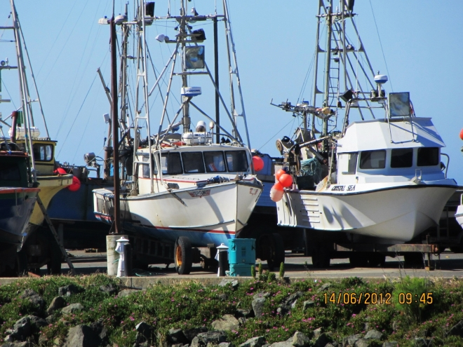 Port Orford Fishing Boats