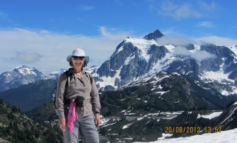 With Mt. Shuksan