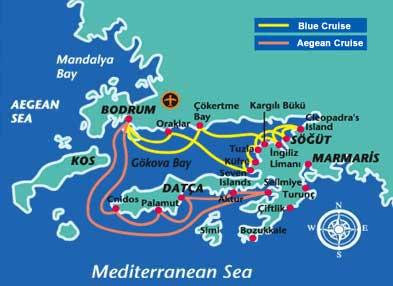 Datca Map