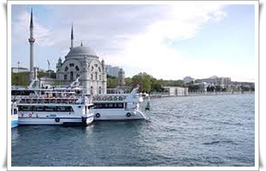 Ferries on Bosphorous