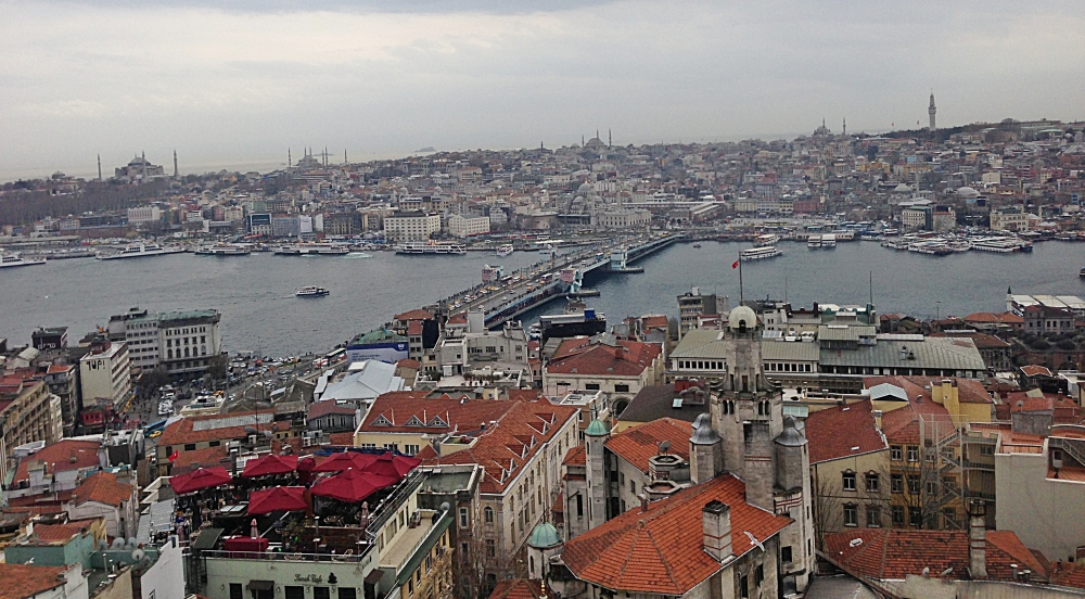 Bosphorus from Galata Tower