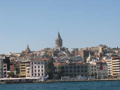Galata Tower from Bosphorous