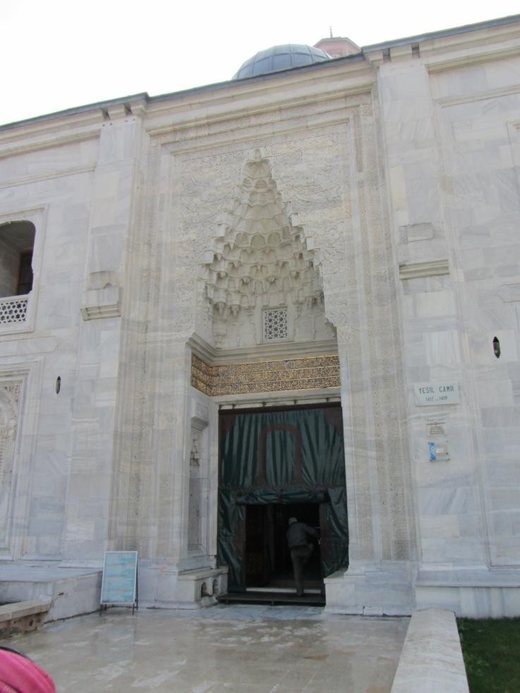 Green Mosque Marble Door