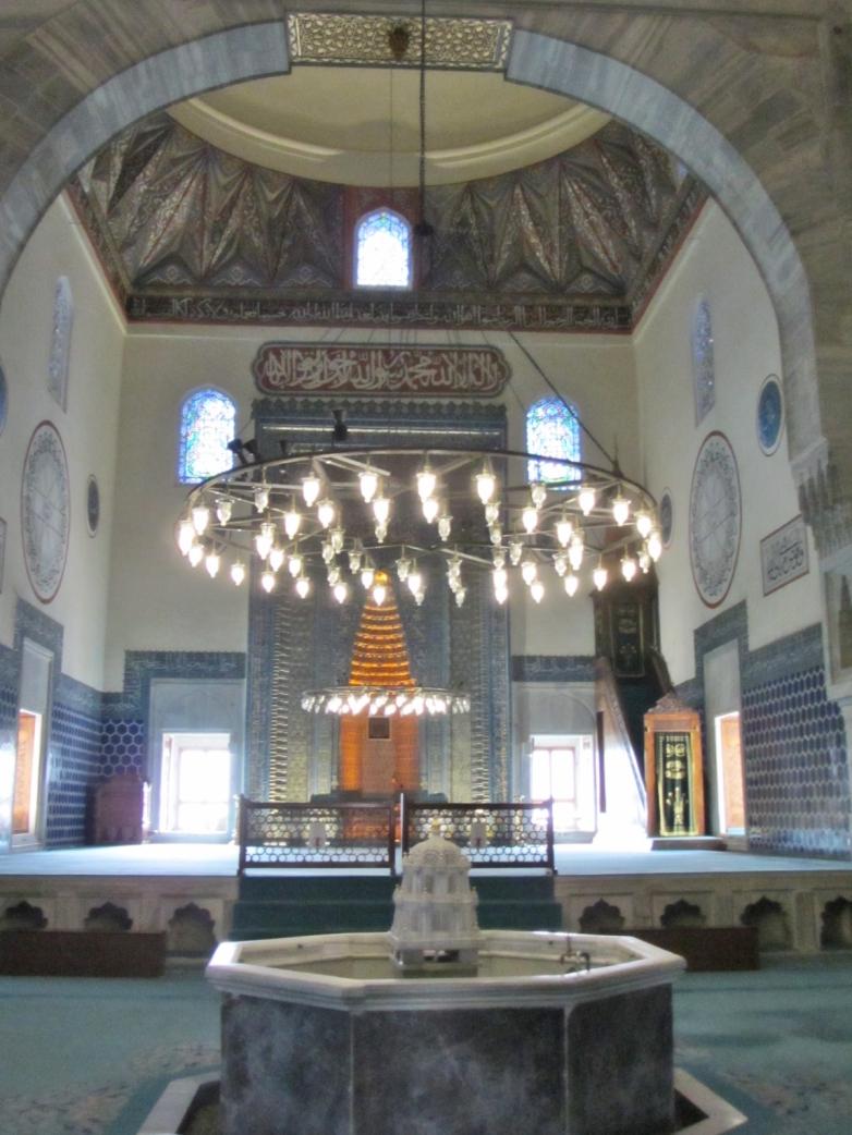 Inside Green Mosque