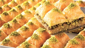 Turkish Baklavası Pastry