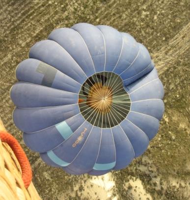 Blue Balloon Below