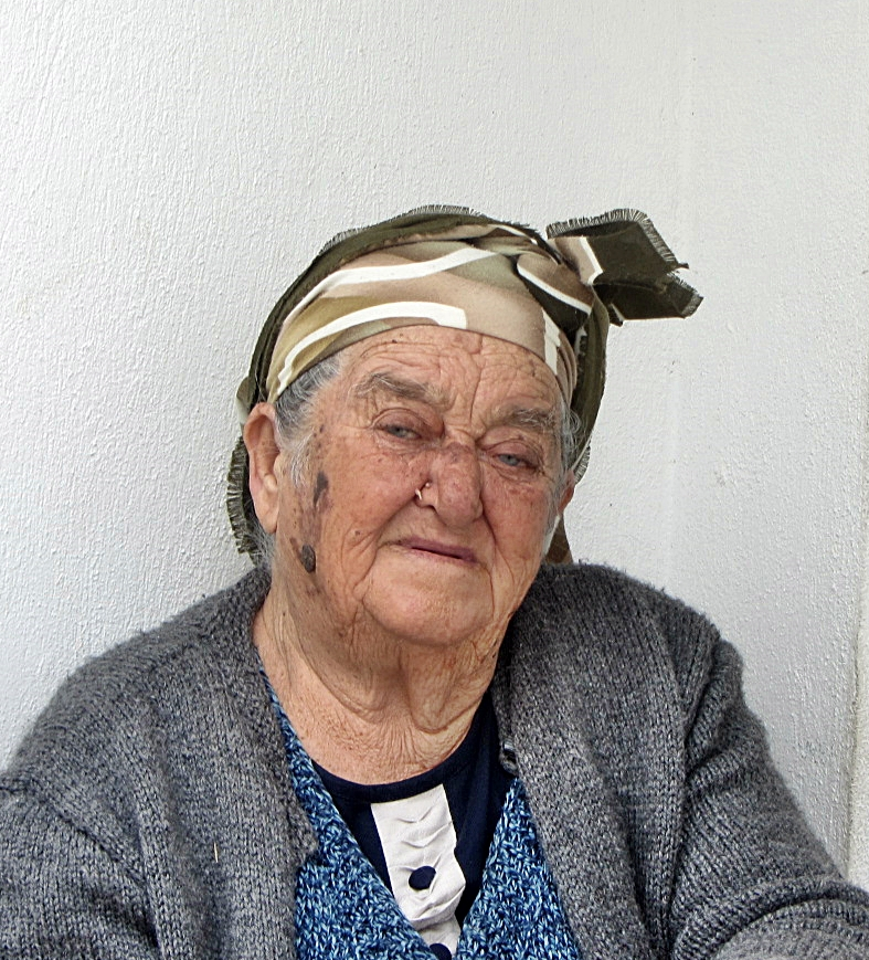 Elderly Turkish Lady