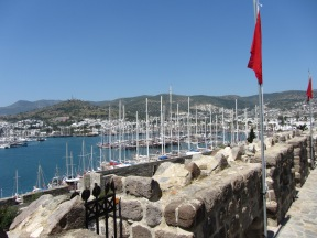 Harbor from Castle