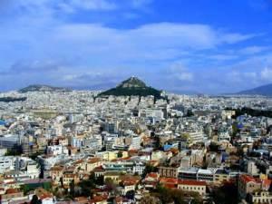 Athens from Mt. Likavitos