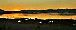 Black Island Sunset