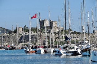 Boats and Castle
