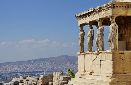 Erechtheion Ancient Greek Temple