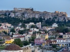 Monastiraki Square and Acropolis