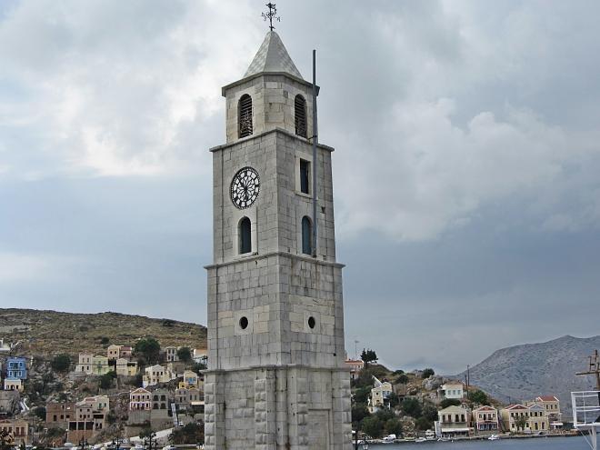 Symi Island Clock Tower