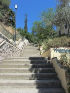 Steps to Mars Hill