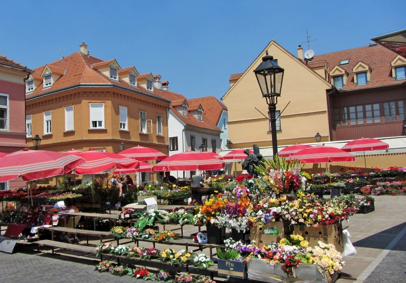 Dolac Flower Market