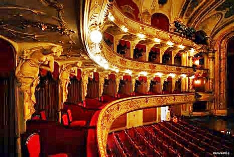 National Theater Interior