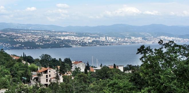 View from Učka Mountain