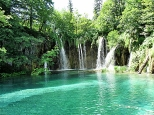 Waterfalls Plitvice Lakes
