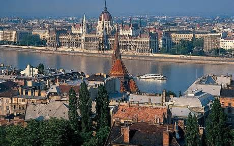 Budapest from Citadel