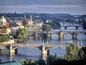 Cubism in Prague Bridges