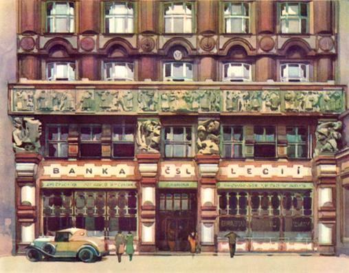 Cooperative House Prague ARTĚL Style