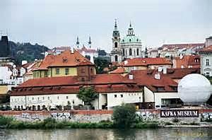 Kafka Museum from Left Bank