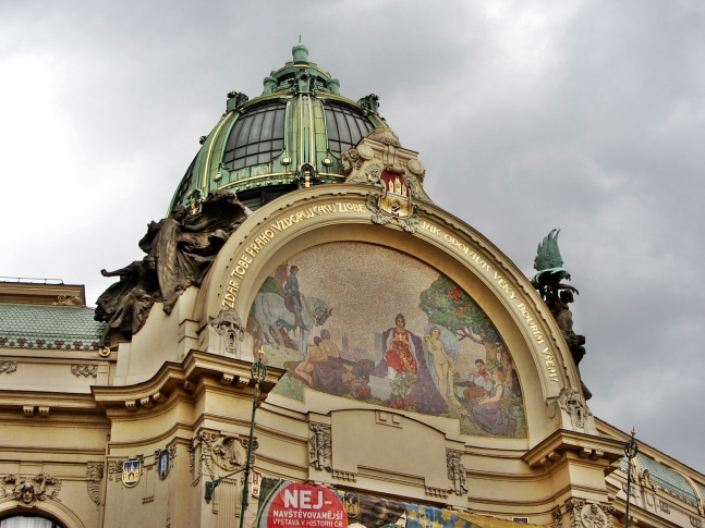 Municipal House Apotheosis Mosaic